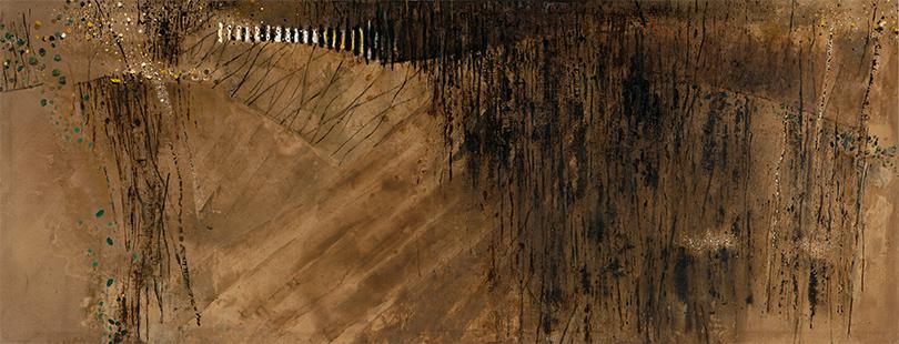 Lyminge  1980-2, 173 x 458 cm