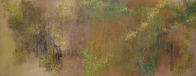 Summer Garden  1983-8, 173 x 457 cm