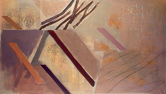 Monks Horton  1976-7, 178 x 306 cm (The Arts Council)