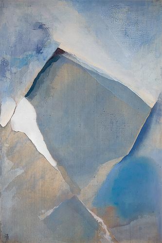 Blue Valley  1975, 183 x 122 cm