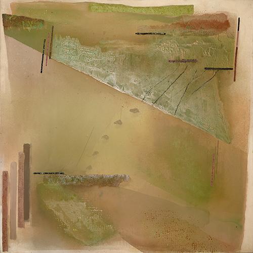 Cobbs Hill II  1979, 152 x 152 cm