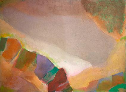Valley  1971, 45 x 61 cm