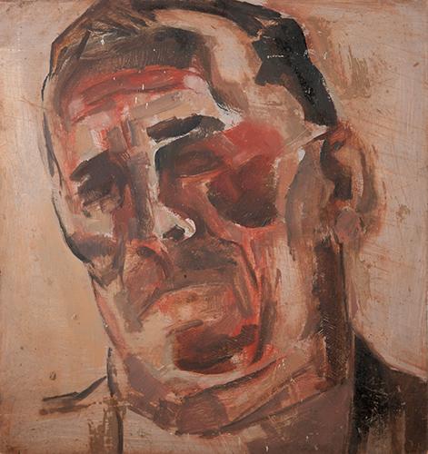 Spaniard I  1961, 33 x 31 cm