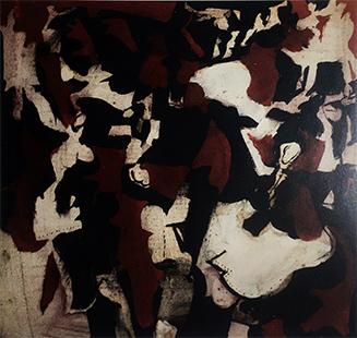 Dancer I  1963, 41 x 41 cm