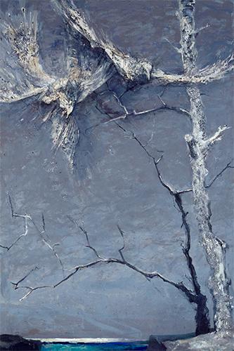 Landscape With Startled Birds  1986 - 1999, 243 x 165 cm