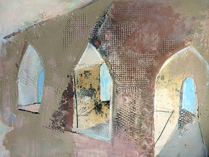 Church Cloister  2000-03, 61 x 81 cm