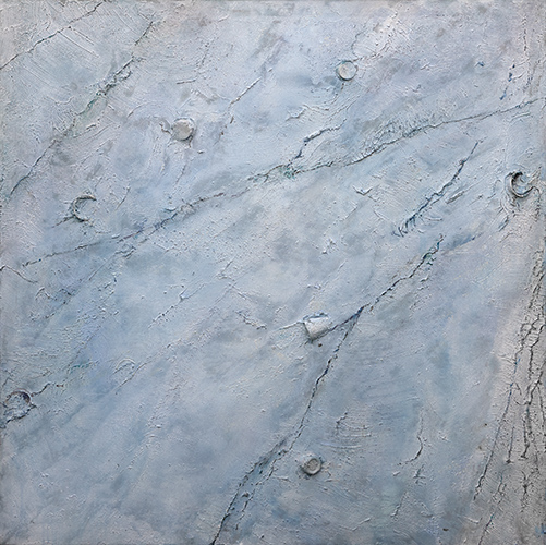 Downstream Flow I  1998-9, 153 x 153 cm