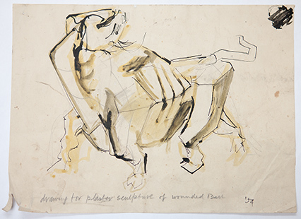 645_drawing_for_plaster_of_wounded_bull_anthony_whishaw_ra.jpg