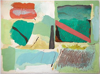 Landscape Fragments  1974-5, 28 x 38.5 cm