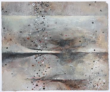 Approaching Storm  2013-14, 36 x 42 cm