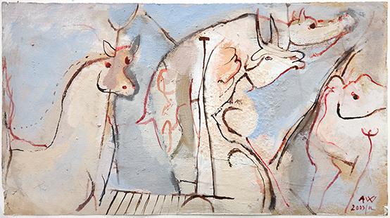 Creatures  2003-11, 28 x 50 cm