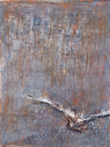 Swooping Bird  1986-87, 133 x 100 cm