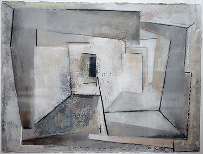 Doorway  1992-3, 57 x 77 cm