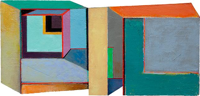 Ambiguous Interior  1998-2015, 28.5 x 61 cm