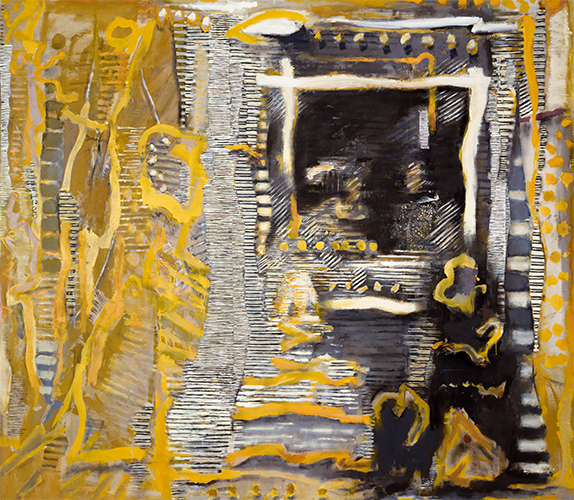 Reflections (With Yellow)  1985-6, 239 x 274 cm