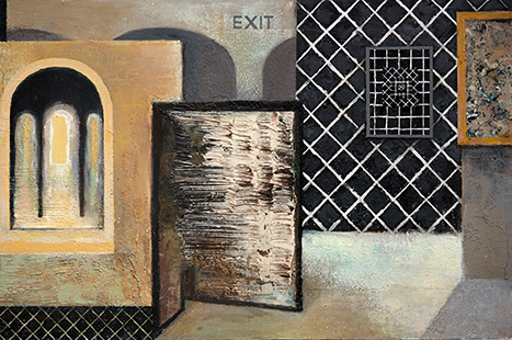 Way Out  2005-11, 61 x 92 cm