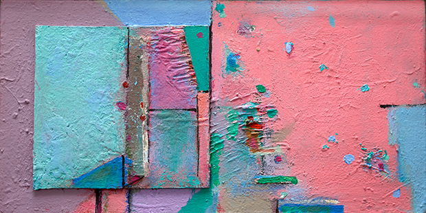 Pink Interior  2008-15, 20 x 40 cm