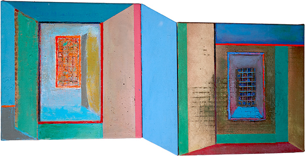 Ambiguous Windows  1996-2012, 42 x 80 cm