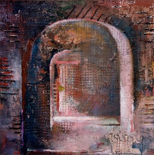 Cellar  1999, 76 x 76 cm