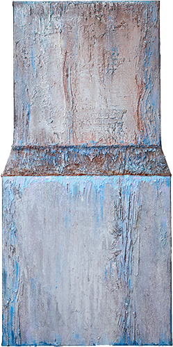 Blue Water Weir  1998-9, 83 x 40 cm