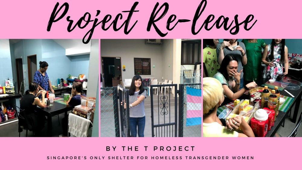 Project Re-Lease, T Project's fundraising initiative