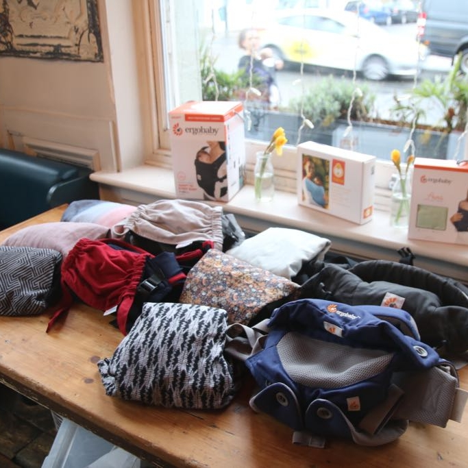 Sling Pop-Up - With Consultants Rachel & Katharine, from London Slings. Drop in weekly 12-3, or by appointment 10-12. . .