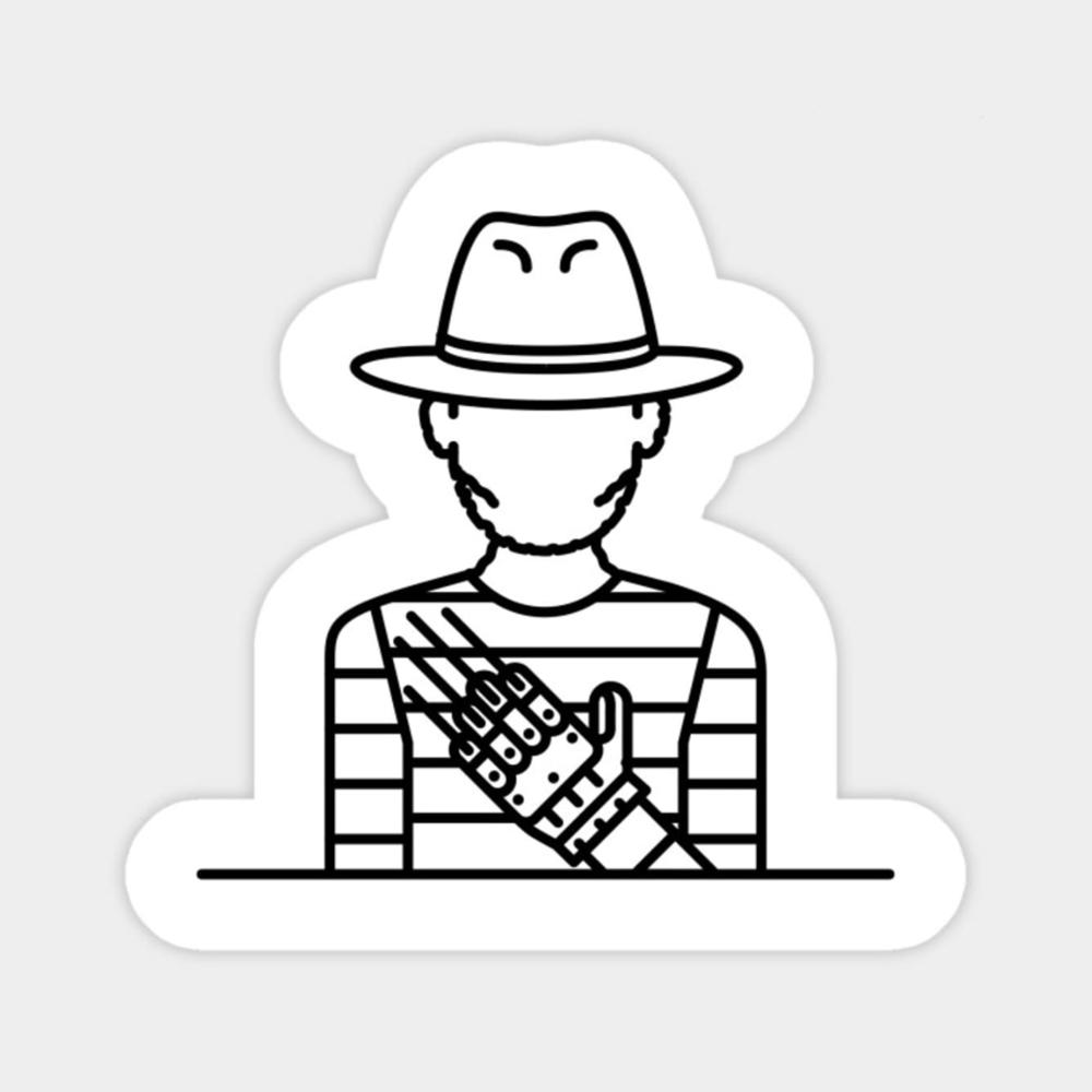 Freddie Krueger Sticker