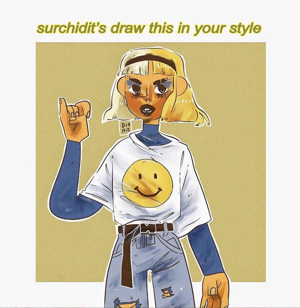 surchidit's #DrawThisInYourStyle