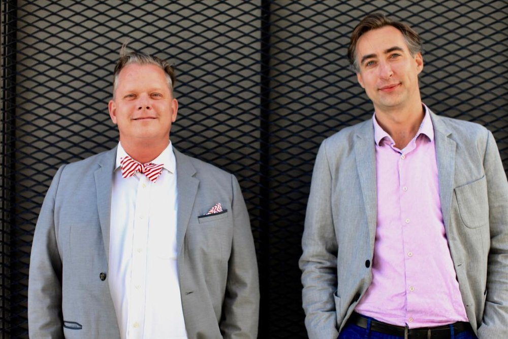 Maarten Lens-FitzGerald & Naos Wilbrink - founders Conva.ai