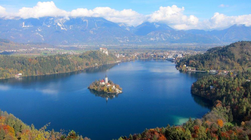 Slovenia's Lake Bled.