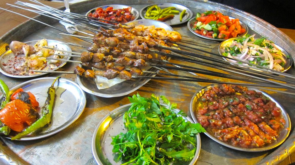 Kebab heaven!