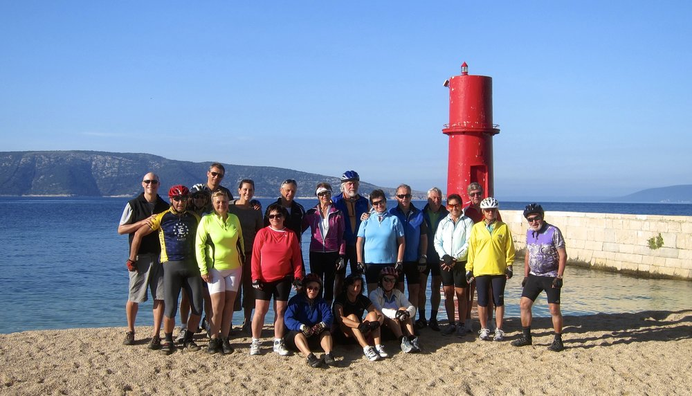 Our Croatian sailing, cycling and hiking group. A nice chance to connect with others while traveling.