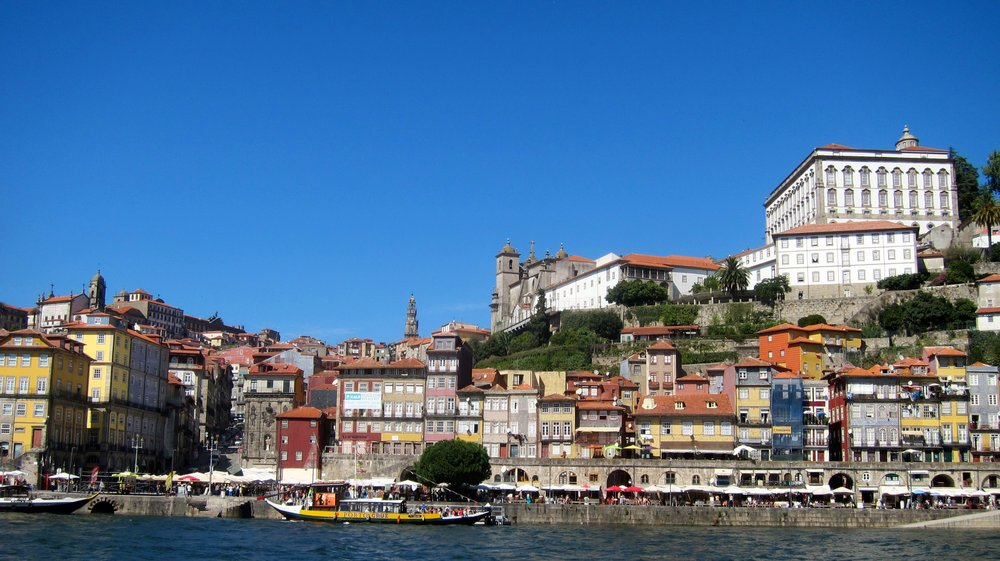 One view of Porto - you have to go up to do most everything in this town!