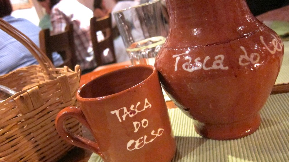 We ate our food to quickly here for a picture, but in Vila Nova de Milfontes, Tasca Do Celso is definitely worth a visit.