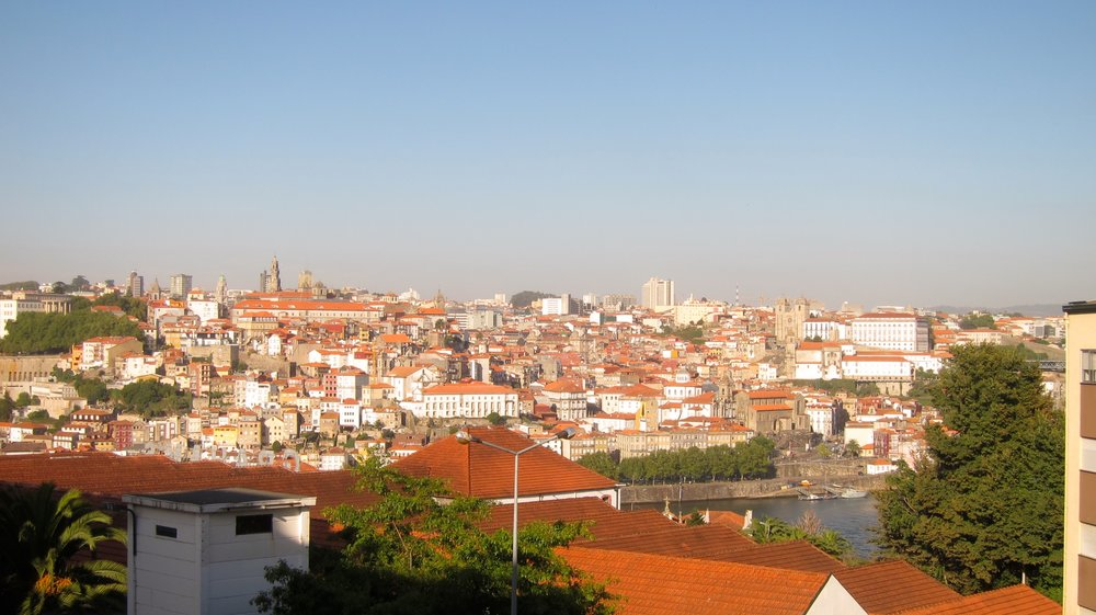 Our great view of Porto from our rental across the river. This view meant an insane walk uphill every time we came home though! Big surprise!