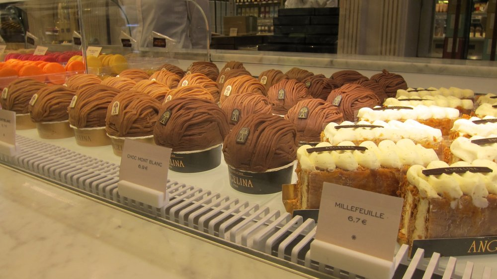 Some of the delectable treats on display.