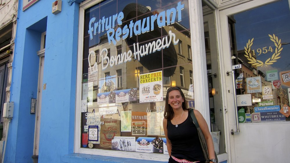 La Bonne Humeur, your home for mussels in Brussels.