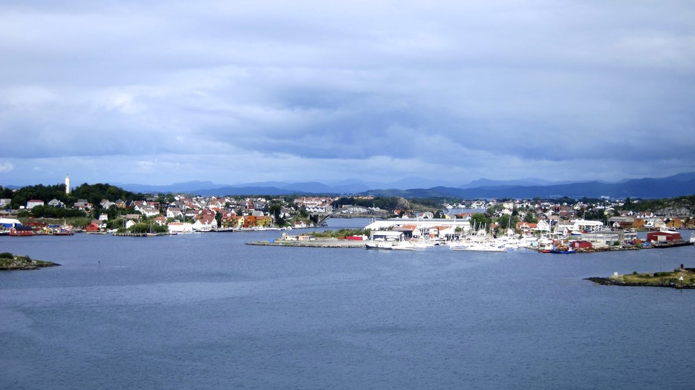 Looking out from Stavanger.
