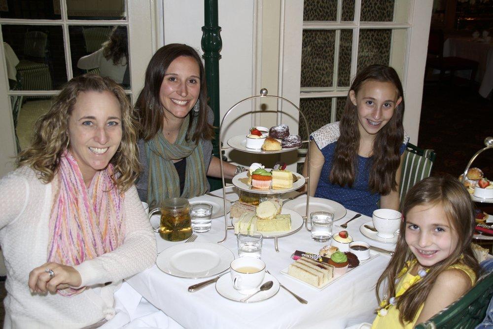 Tea at the Chesterfield Mayfair.