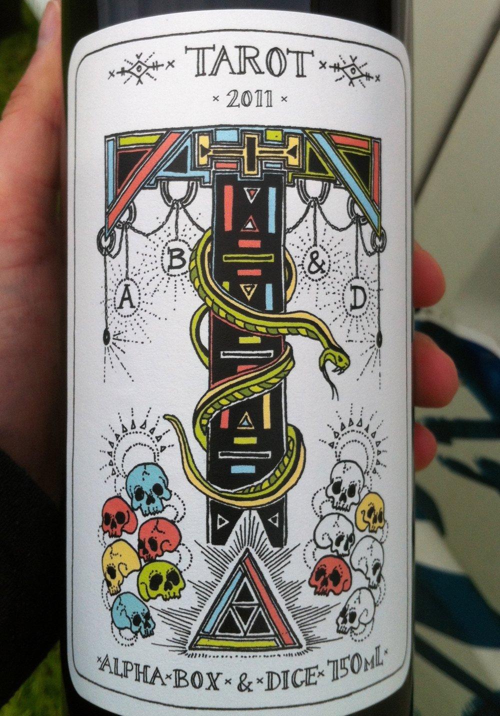 Bottle of Tarot from Alpha Box & Dice.