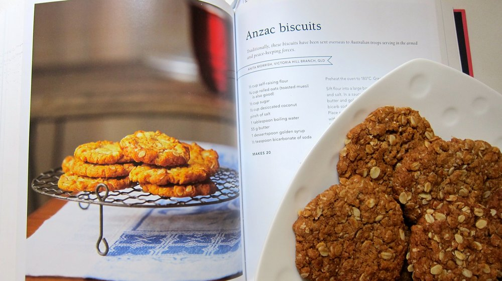 Anzac biscuits made by the time-tested Country Women's Association recipe.