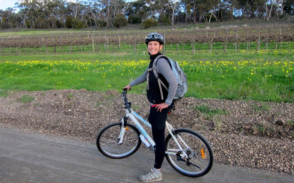 Along the Riesling Trail in Clare Valley.
