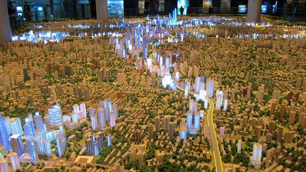 The Shanghai model.