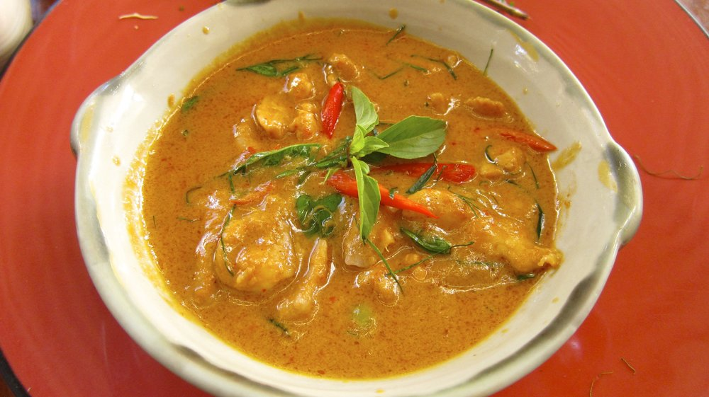 Panaeng Curry with Chicken (YUM!)