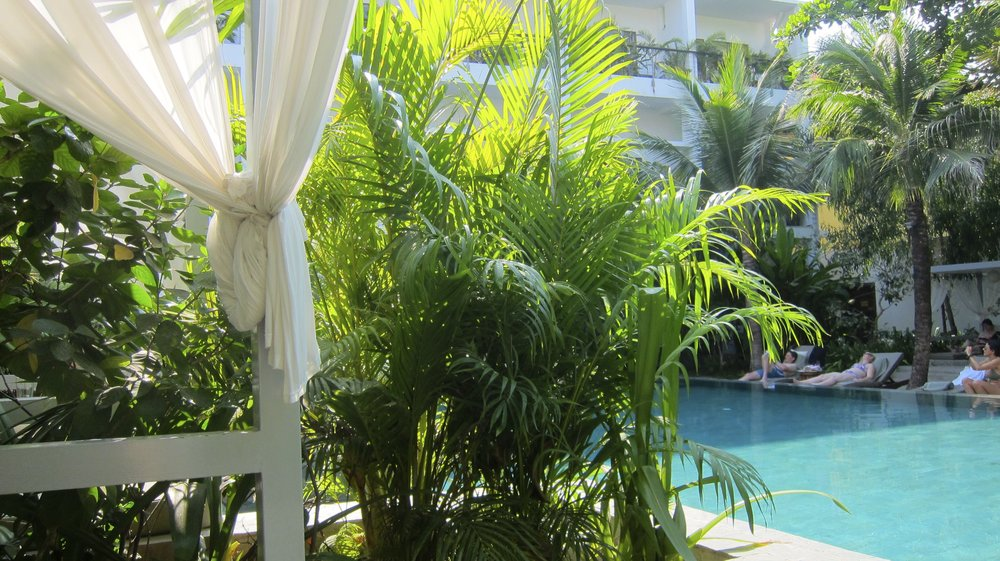 The Plantation Pool, worth every penny.