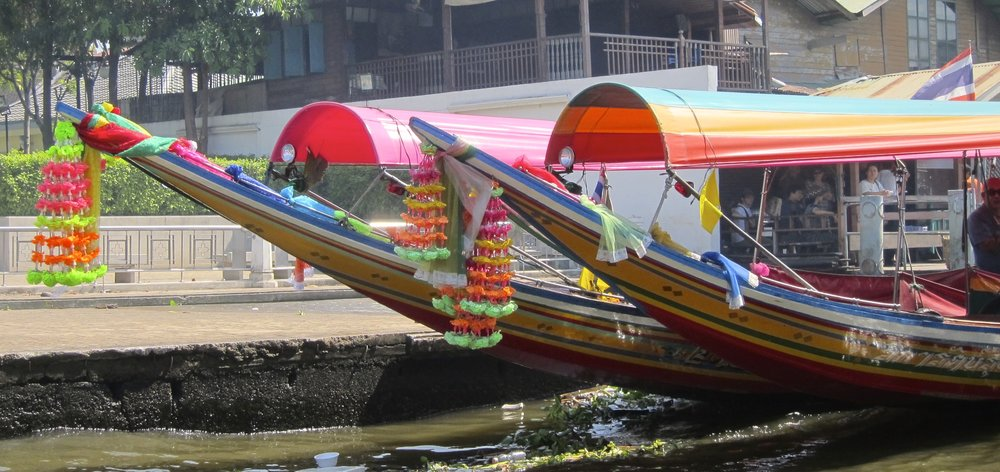 River Taxi Transport in Bangkok