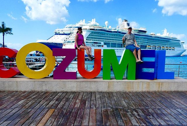 I put the U in Cozumel! A much needed relaxing week on the new @celebritycruises Edge ship. Amazing crew on board and quality time with the fam.