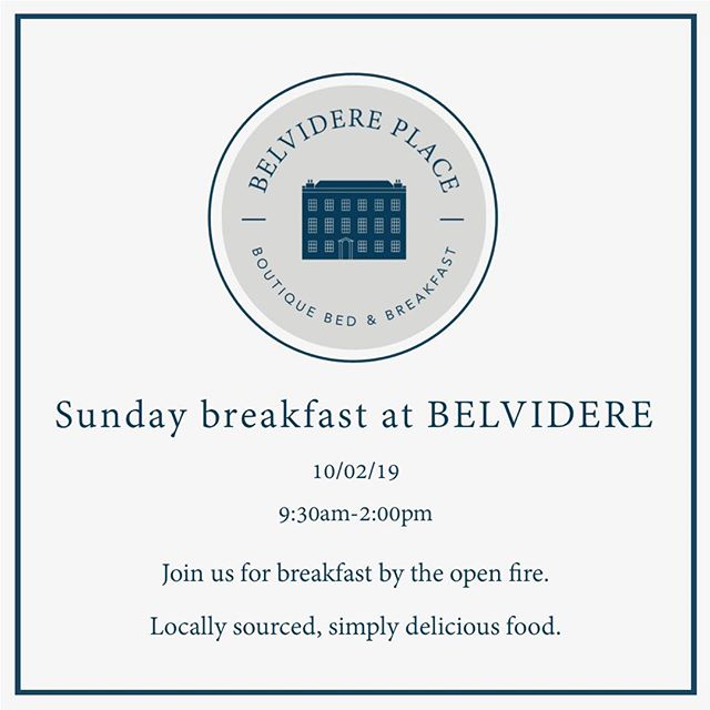 Sunday breakfast at Belvidere Place. We will be opening the doors again this Sunday for a cost breakfast. 07376 299296 for reservations #broadstairs#visitthanet#visitkent#boutiquehotel