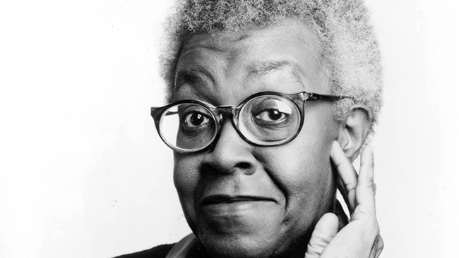 Gwendolyn Brooks, March 18, 1990. (Chicago Tribune file photo)