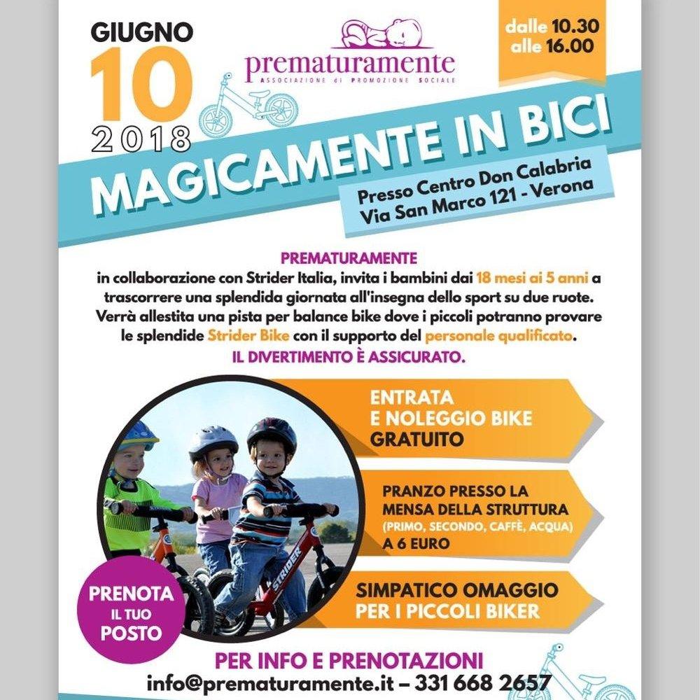 VERONANEWS.NET07.06.2018 - Genitori e figli: il diritto alla felicità viaggia su due ruote #magicamenteinbici